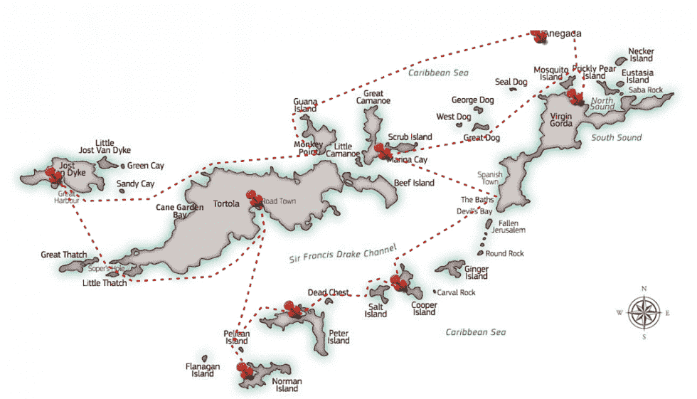 BVI-Charter-Itinerary-map